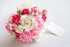 Pink wedding flower Stock Photo
