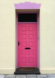 Pink Welcome stock images