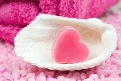 Pink wellness Stock Image