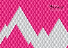 Pink and white abstract background vector illustration, cover template layout, business flyer, Leather texture luxury. Can be used in annual report cover design Stock Image