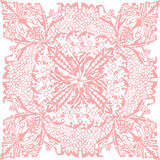Pink on white background Royalty Free Stock Photography