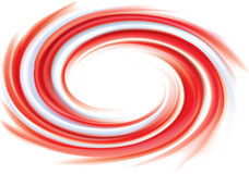 Pink and white candy cane sweet spiral backdrop Royalty Free Stock Image
