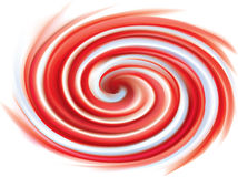 Pink and white candy cane sweet spiral backdrop Royalty Free Stock Photography