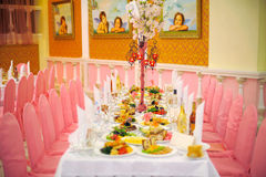 Pink and White Decoration Stock Image