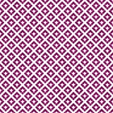 Pink and White Diagonal Squares Tiles Pattern Repeat Background vector illustration