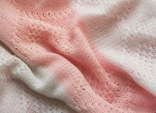 Pink and  white fabric Royalty Free Stock Photography