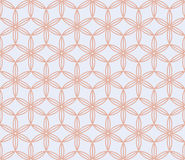 Pink and white floral japanese background. Sakura flowers vector seamless pattern, traditional asian design Royalty Free Stock Photo