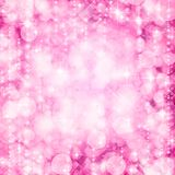 Pink and White Holidays Background Stock Images