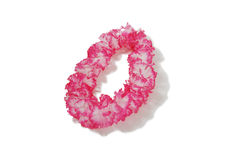 Pink and white Lei Royalty Free Stock Image