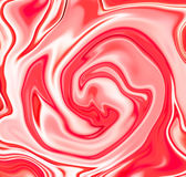Pink white liquid mix. Red and white suminagashi or marble texture Royalty Free Stock Photo