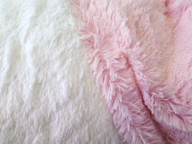 Pink and white microfiber Fabric texture Royalty Free Stock Photo