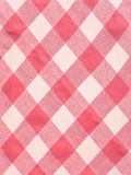 Pink and white pattern fabric Stock Photography