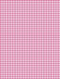 Pink and white plaid Royalty Free Stock Image