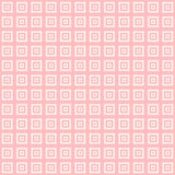 Pink and white squares inside squares cube pattern background. Wallpaper Stock Images