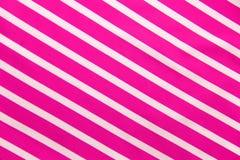 Pink white stripe texture Stock Photo
