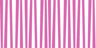 Pink and white striped cute baby print. Abstract vertical striped pattern. Pink and white cute baby print. Background for wallpaper, web page, surface textures Royalty Free Stock Image
