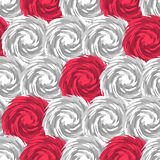 Pink and white swirl tiling Royalty Free Stock Photography