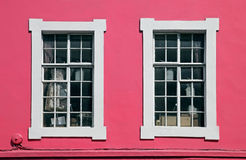 Pink window Royalty Free Stock Photo