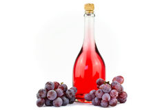 Pink wine Stock Photography