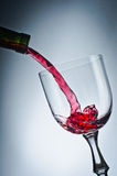 Pink wine Royalty Free Stock Photography