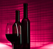 Pink wine Stock Photo