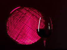 Pink  wine Royalty Free Stock Images