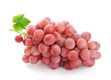 Pink wine grape Stock Image