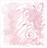 Pink winter Royalty Free Stock Photography