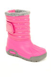 Pink winter boot Royalty Free Stock Photography