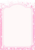 Pink winter holiday paper background Royalty Free Stock Photo