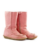 Pink winter shoe Stock Photography