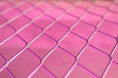 Pink wire Mesh Stock Photography