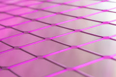 Pink wire Mesh Stock Photo