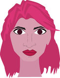 Pink woman Royalty Free Stock Images