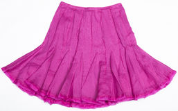 Pink Women's skirt Royalty Free Stock Image
