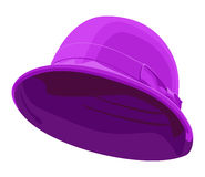 Pink womens hat Stock Image