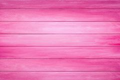 Pink wood planks background. Pink painted wood planks background stock images