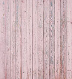 Pink Wood Planks Stock Photography