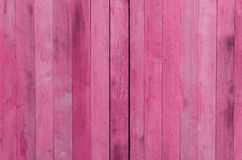 Pink wood texture background Stock Image