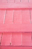 Pink Wood Texture on Vintage Crate Stock Photos