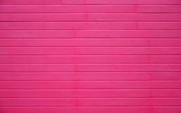 Pink wood wall horizontal texture Stock Photography