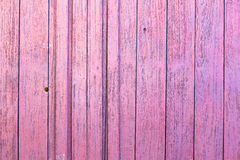 Pink Wood Wall Royalty Free Stock Photography