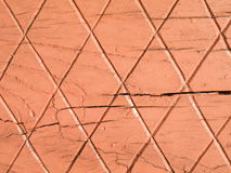 Pink wooden surface Stock Image