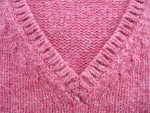 Pink wool. Pink woll close-up royalty free stock photography