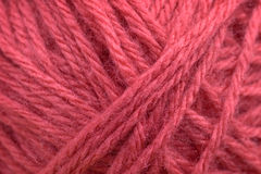 Pink wool Royalty Free Stock Photo