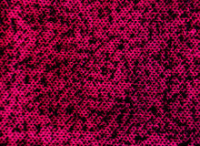 Pink wool material. With black details,macro view,photography Stock Images