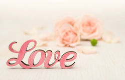 Pink Word Royalty Free Stock Images