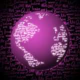Pink world Royalty Free Stock Photography