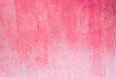 Pink Worn pale pink concrete wall. royalty free stock photography