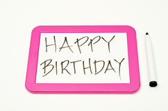 Pink Writing Tablet Stock Images
